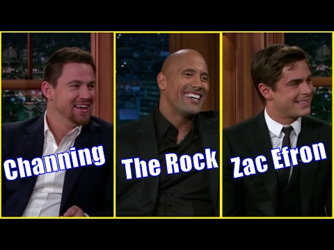 6 Males - Guests Who Appeared Only Once #2 - Channing Tatum, Dwayne Johnson, Zac Efron & More