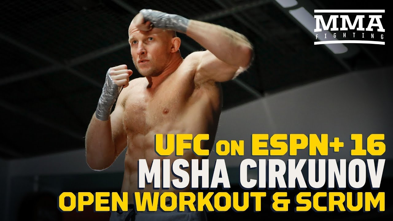 Misha Cirkunov Thinks He's '30 Percent' Stronger Since Last Fight - MMA Fighting