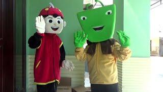 UNBOXING COSPLAY BoBoiBoy & Adu Du Kostum BoBoiBoy dan Adu Du Beli Online Goyang LILY ALAN WALKER