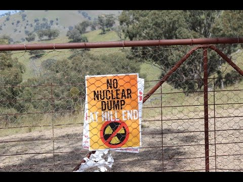 No Hill End Nuclear Waste Dump Meeting with John Cob