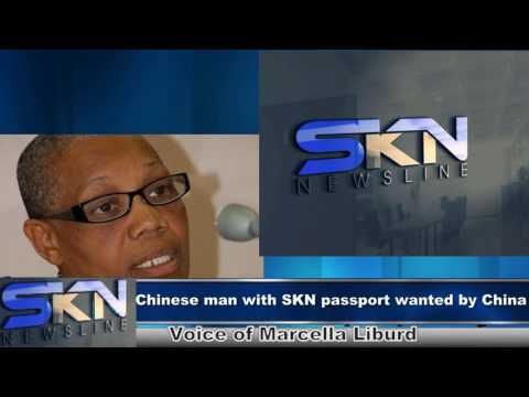 Wanted Chinese man with St. Kitts and Nevis passport