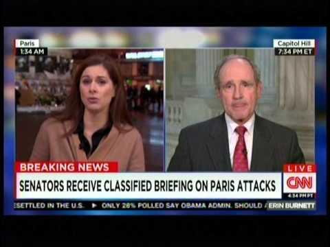Risch and CNN's Erin Burnett Discuss ISIS, Paris Attacks