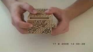 4-sun Japanese Puzzle Box