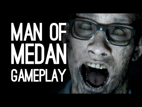 Man of Medan Gameplay: Let's Play The Dark Pictures Anthology - LUKE & ANDY VS GHOST SHIPS