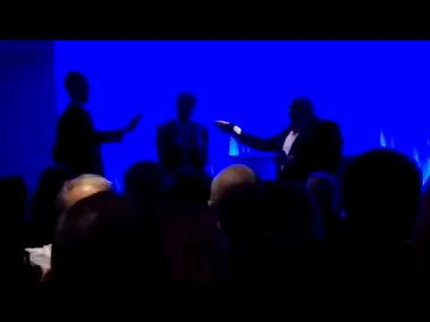 Niko & Kenny Miller Entrance OCT 11 2016 RANGERS CHARITY EVENT