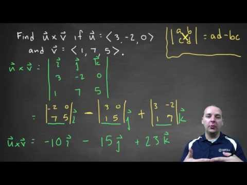 Vector Cross Product - Example 1
