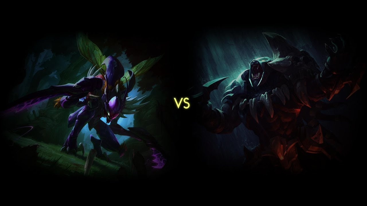 Rengar Vs Khazix Fan Art | www.pixshark.com - Images ...