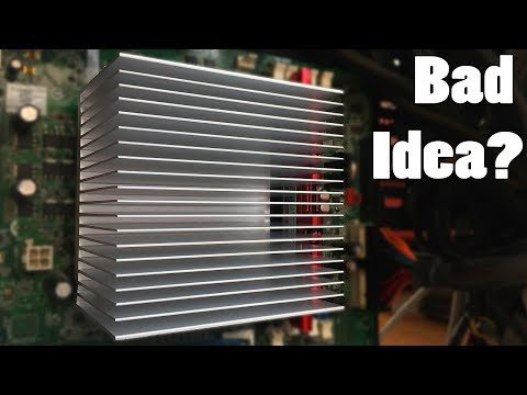 The $10 Fanless CPU Cooler: Low Temperatures Or Instant Fire?