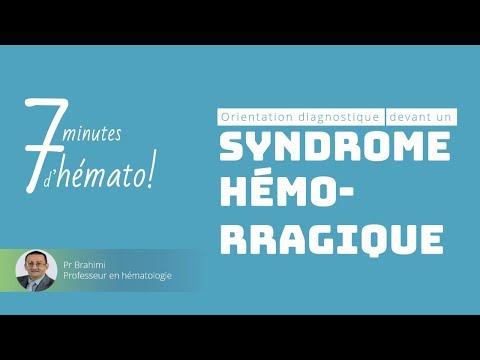 Orientation diagnostic devant un syndrome hémorragique