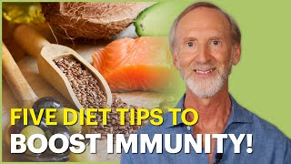 The Immune Doctor - 5 Diet Tips to Boost Immune Function (You'll be surprised!)