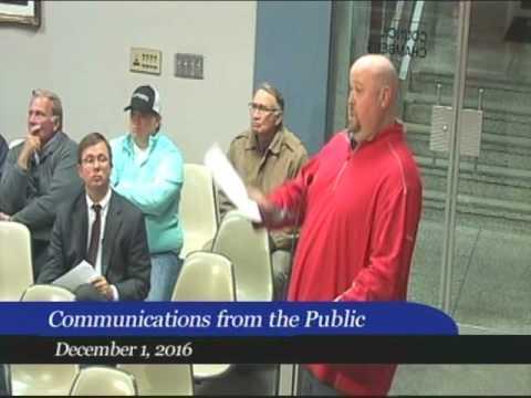 Huntsville City Council 12.1.16