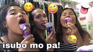 ice cream challenge! (sobrang laughtrip) pampa goodvibes!!