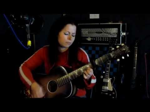 Drunken Sailor (What shall we do with the..) Sea Shanty Song - Kee Smith (acoustic guitar + lyrics)