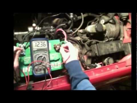 1986 Chevy Truck Starter Wiring Diagram 4 Way Trailer Plug 1996 Ford Ranger Starting Problem - One Click, Then Nothing Youtube