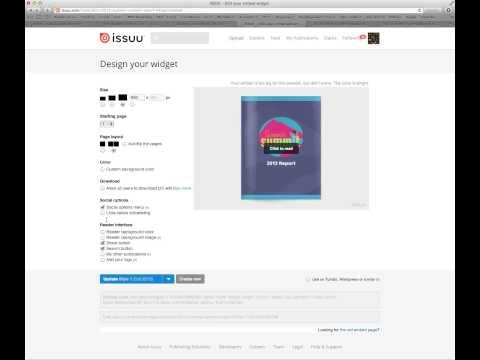 How to Embed an Issuu Document into a WordPress Page or Post