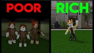 Poor To Rich Roblox Sad Story| Deaa Seh