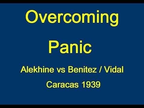 Alekhine vs Benitez / Vidal - Caracas 1939