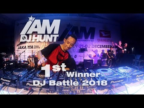 DJ FLAME 1ST BATTLE WINNER IAMDJHUNT 2018