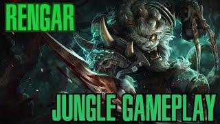 League of Legends - Rengar Jungle Gameplay - ''Morri e nem vi'' [PT-BR]