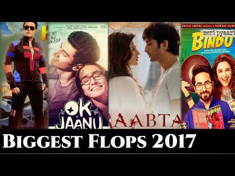10 HIGHEST FLOP Bollywood Movies Of (2017)