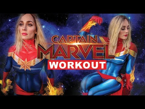 I Trained Like Captain Marvel - Brie Larson's Workout - Strength