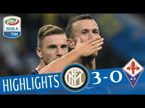 Inter - Fiorentina - 3-0 - Highlights - Giornata 1 - Serie A TIM 2017/18
