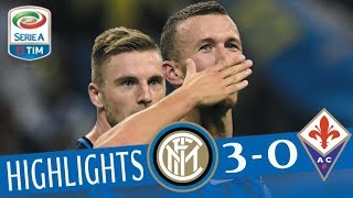 Inter - Fiorentina - 3-0 - Highlights - Giornata 1 - Serie A TIM 2017/18 streaming