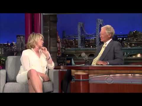 Martha Stewart - Interview Letterman 2013 07 08 HQ