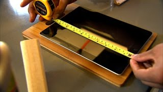 The Fix - Diy Tablet Stand For The Kitchen