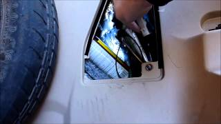 Buick Rendezvous Trailer Wiring Harness Installation