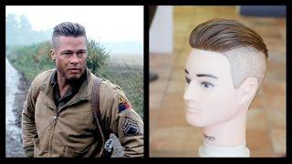 Brad Pitt Fury - Men