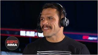 Rafael Dos Anjos: Leon Edwards shouldn't look past me | UFC Fight Night | ESPN MMA
