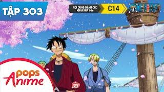 One Piece Tập 303 - Phạm Nhân Là Luffy! Theo Dấu Cây Anh Đào Mất Tích - Phim Hoạt Hình Đảo Hải Tặc