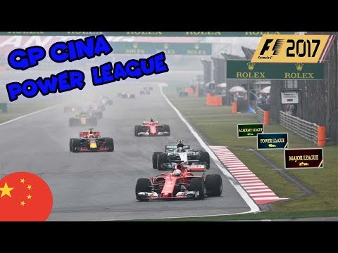 F1 2017 FMD POWER LEAGUE - 2° ROUND | GRAN PREMIO DELLA CINA | 50% NO ASSISTS