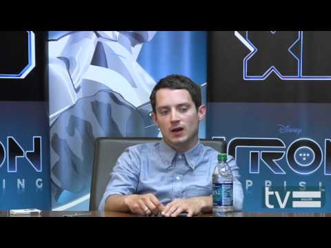 Elijah Wood Interview | TRON: Uprising (Disney XD)