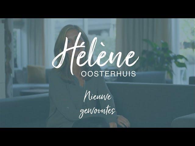 Hélène Oosterhuis - nieuwe gewoontes