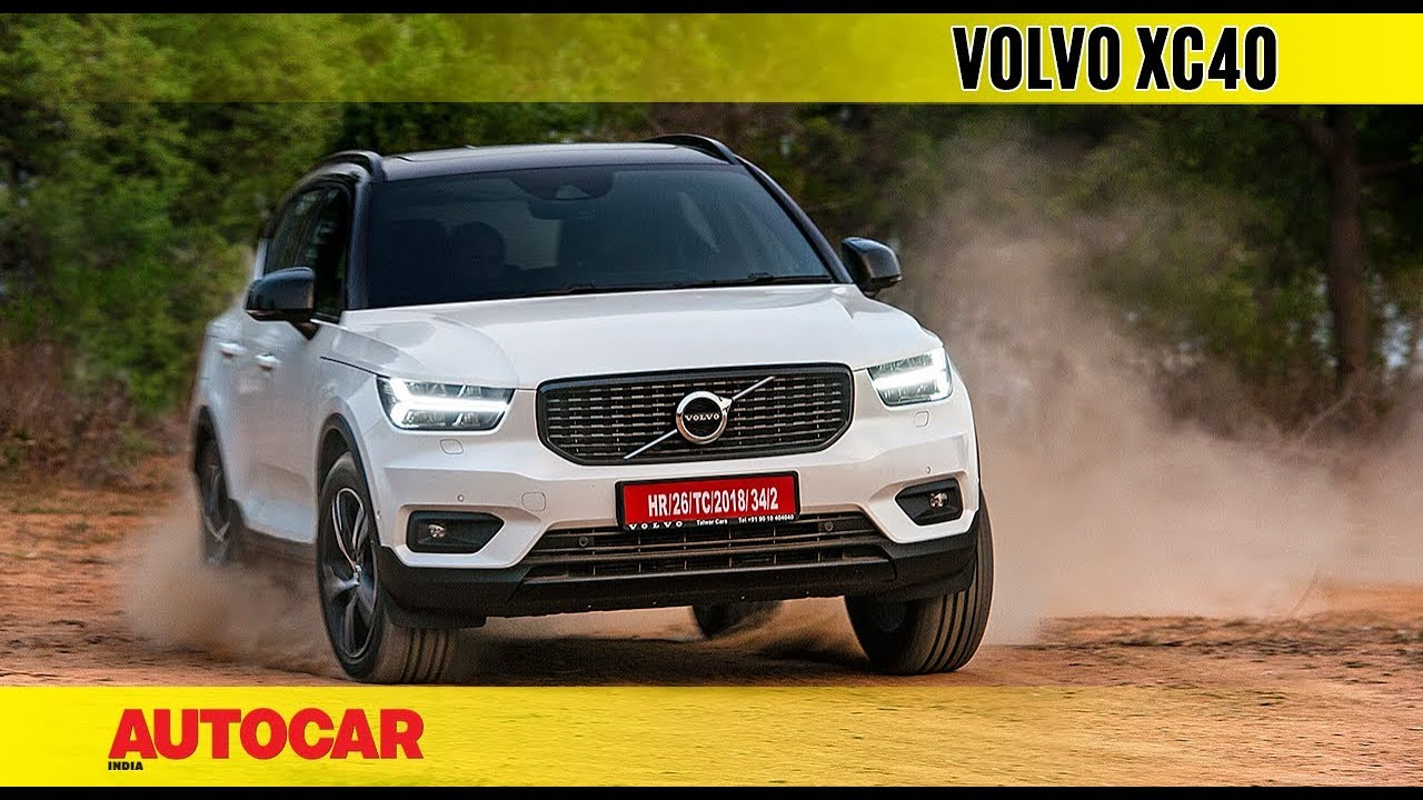 Volvo Xc40 India Drive Review Autocar India Youtube
