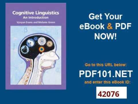 Cognitive Linguistics An Introduction
