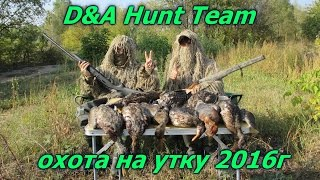 D Hunt Team охота на утку сезон 2016. Путь к успеху. D Hunt Team duck hunting season 2016.