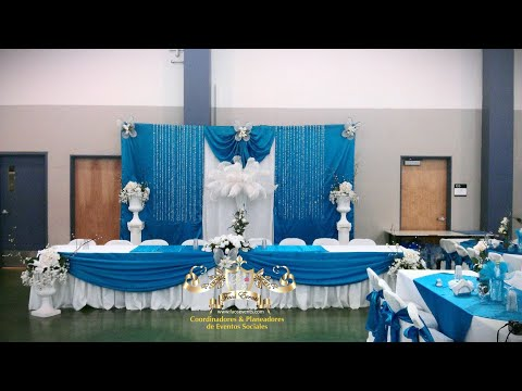 Faos Events decoracion turquesa  YouTube