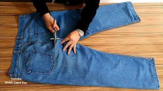 Pantolondan İnanılmaz Geri Dönüşüm/İdea/jeans/recycle