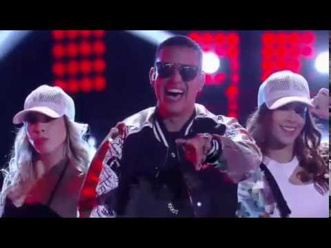 "Daddy Yankee canto  ""shaky shaky"" en la final de la voz kids"