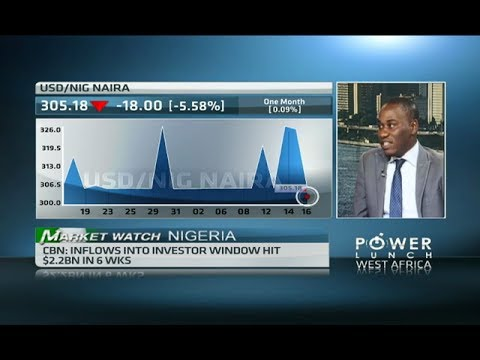 Nigeria's equity market extends gains.
