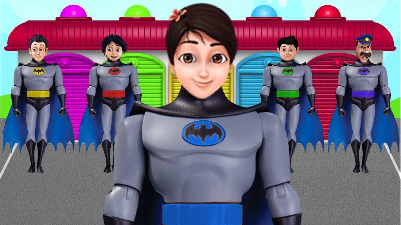 Download Shiva ANTV Transform into BATMAN Learn Colors Nursery Rhymes Preschool Education for Kids Songs