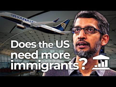Why Does the USA Need More IMMIGRANTS? - VisualPolitik EN
