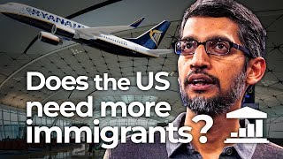 Why Does the USA Need More IMMIGRANTS? VisualPolitik EN