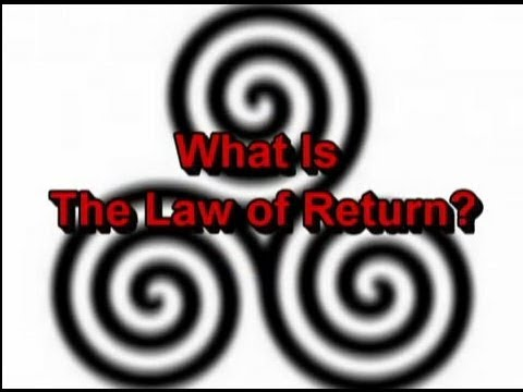 What Is The Law of Return / The Threefold Law?