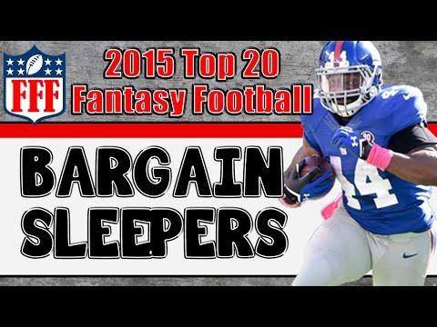 Preseason Top 20 Sleepers || 2015 Fantasy Football