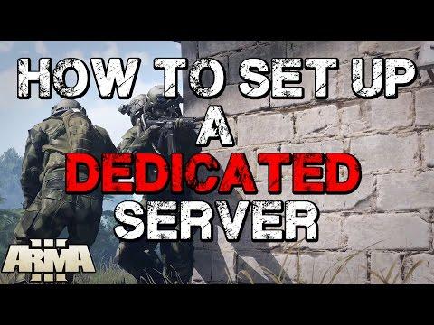 ArmA 3 - How To Set Up A Dedicated Server (Streamline Servers, Gameservers, Vilayer Etc.)