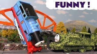 Thomas and Friends Toy Trains Pranks - Prank Tom Moss Train Play Doh Toy Stories for kids TT4U